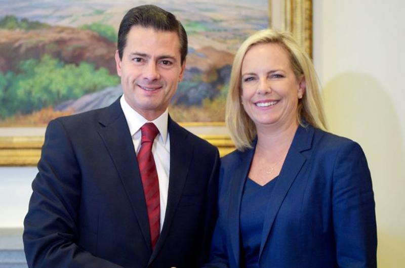 Peña Nieto y funcionaria de EUA abordaron migración y cooperación regional