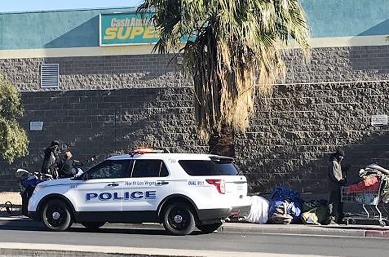 Cuatro arrestados en operativo de tránsito en North Las Vegas