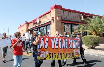 Reclamaron aumento salarial en restaurantes de comida rápida