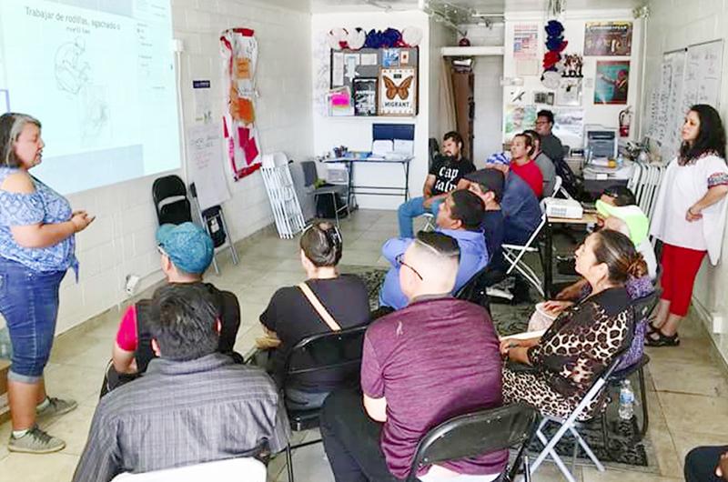 'Arriba LV Worker Center' convoca a tomar lecciones de OSHA 10
