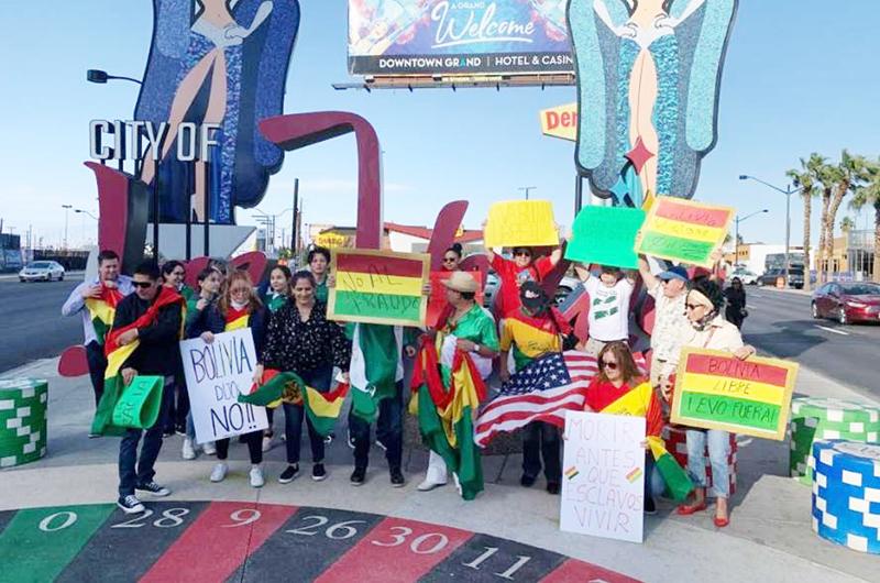 Tensa la situación en Bolivia... Opiniones divididas entre bolivianos del valle