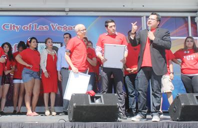 Recordaron a César Chávez en evento efectuado en su honor