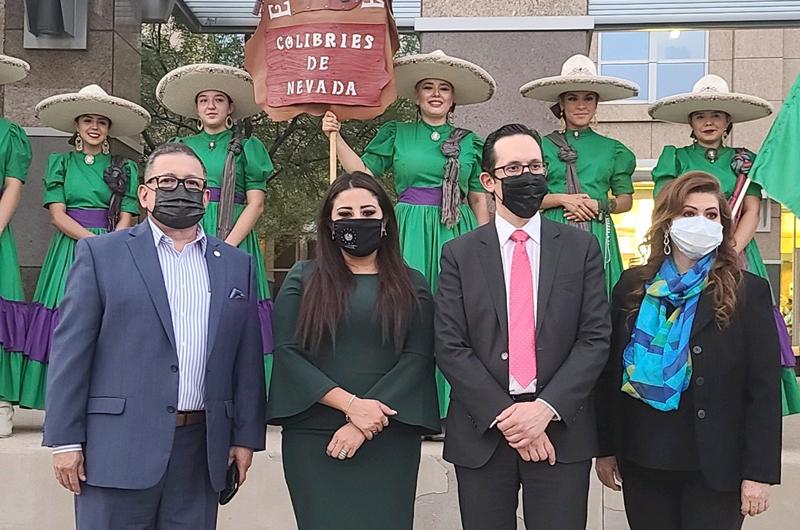En NLV celebran en forma solemne la independencia de México