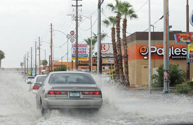 Causaron daños las lluvias en el sur de Nevada