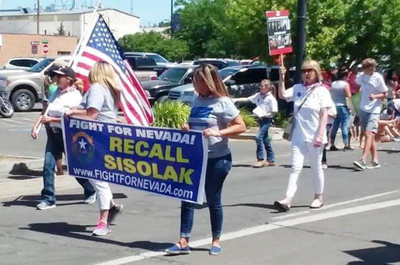 Pierde la batalla campaña para destituir al gobernador Sisolak