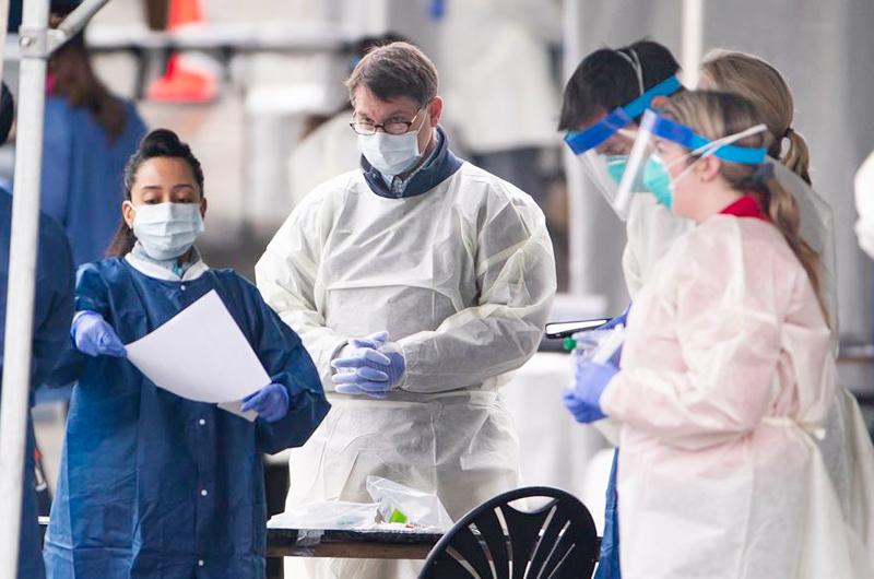 Estados Unidos avanza hacia los 10 millones de contagios de covid-19