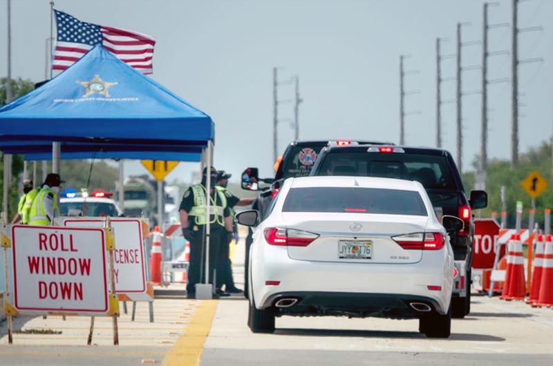 Por tercer día consecutivo casos nuevos superan los 4 mil en Florida