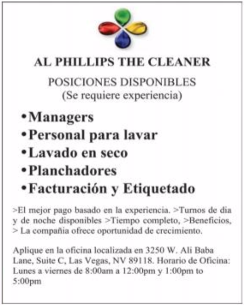 Al Phillips the cleaner