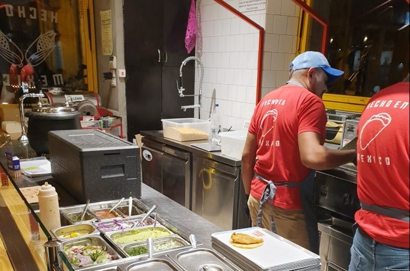 Tacos Luis, la gastronomía mexicana conquista Israel