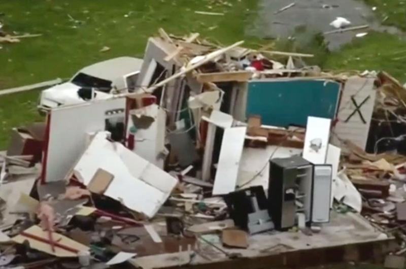 Tormentas en Texas y Misisipi dejaron ocho muertos y decenas de heridos