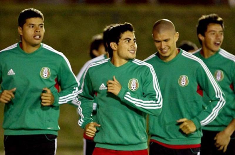El Tri se concentró para partidos amistosos ante Argentina