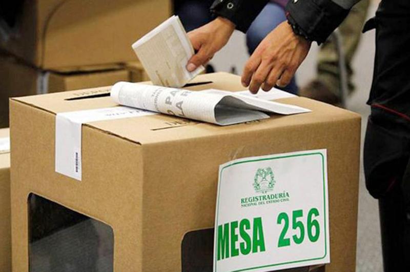 Los colombianos de Las Vegas volverán a ejercer el voto