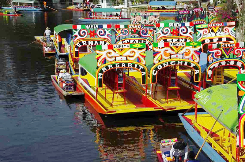 Celebró Xochimilco  31 años como Patrimonio Cultural de la Humanidad