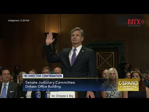 Senado de EUA confirma a Christopher Wray como nuevo director del FBI