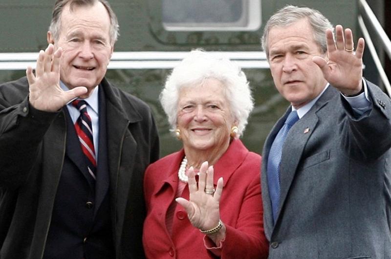 Lamentable deceso de Barbara Bush, primera dama entre 1989 y 1993
