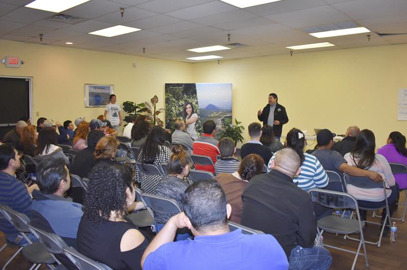 En masivo taller comunitario presentó credenciales el Comité Pro TPS