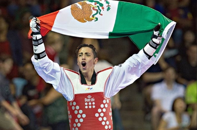 Carlos Navarro se dijo contento, se medirá a coreano y va por oro en Mundial de Taekwondo