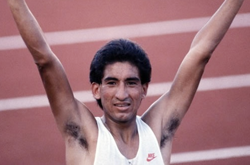 Ernesto Canto, orgulloso de ser primer ganador en mundiales de atletismo