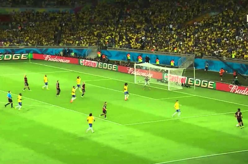 Dolida la afición alemana por derrota frente a Brasil