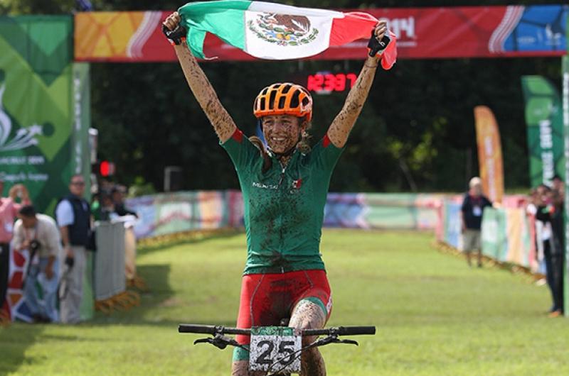 Ciclista mexicana Daniela Campuzano gana bronce en Torneo Panamericano