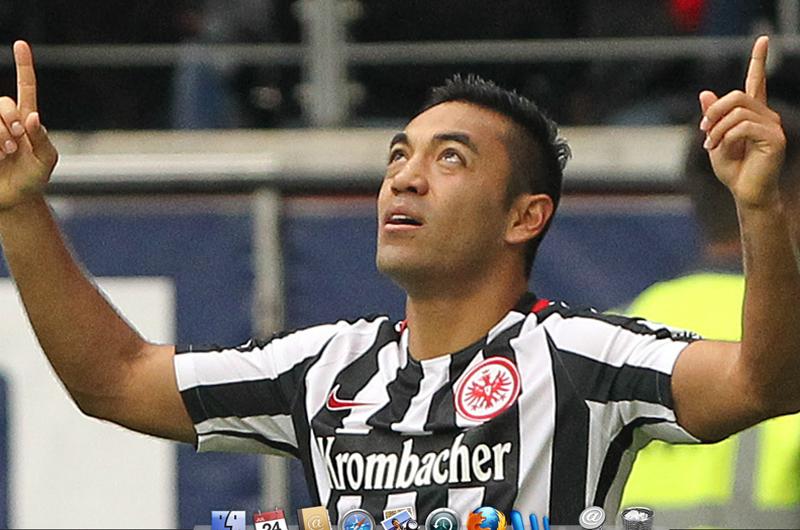 Mexicanos Marco Fabián y Salcedo estarán en Italia con Eintracht Frankfurt