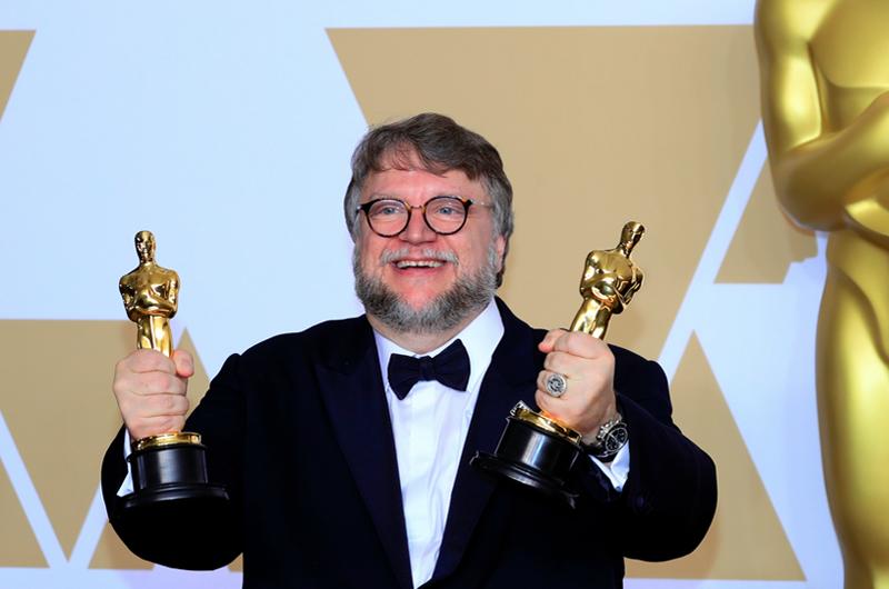 Guillermo del Toro hace historia en la entrega del Oscar