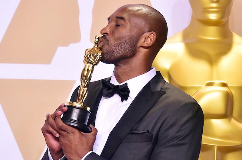 Ex basquetbolista Kobe Bryant gana el Oscar