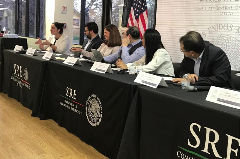Debaten en Dallas sobre participación política de migrantes mexicanas