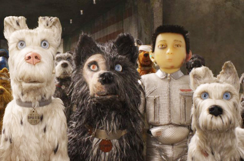"""Wes Anderson ladra fuerte con """"Isle of Dogs"""""""