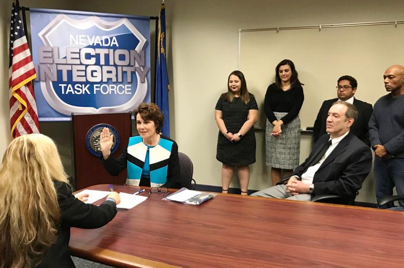 Jacky Rosen se registró oficialmente como candidata para el Senado