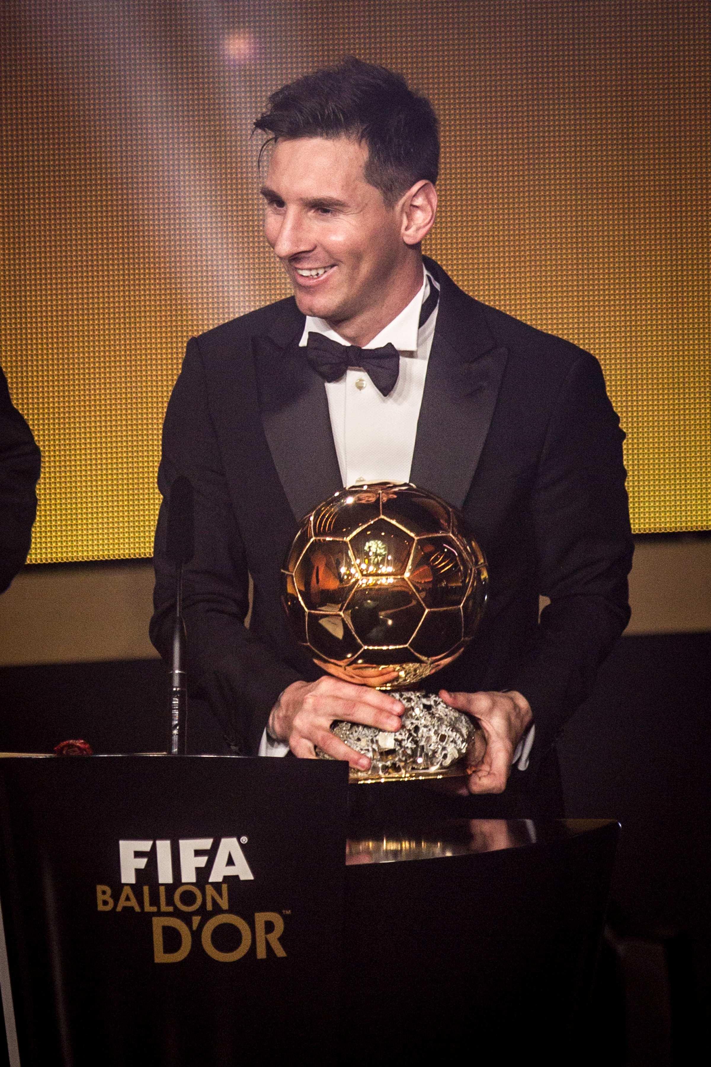 La Pulga De Las Vegas >> Messi gana su quinto Balón de Oro   ElMundo.net
