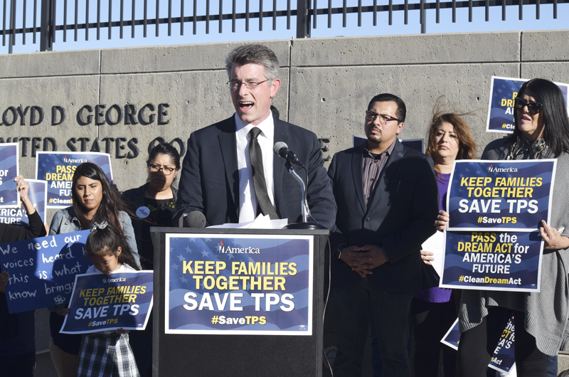 Piden al congreso extensión del TPS y aprobación de DACA