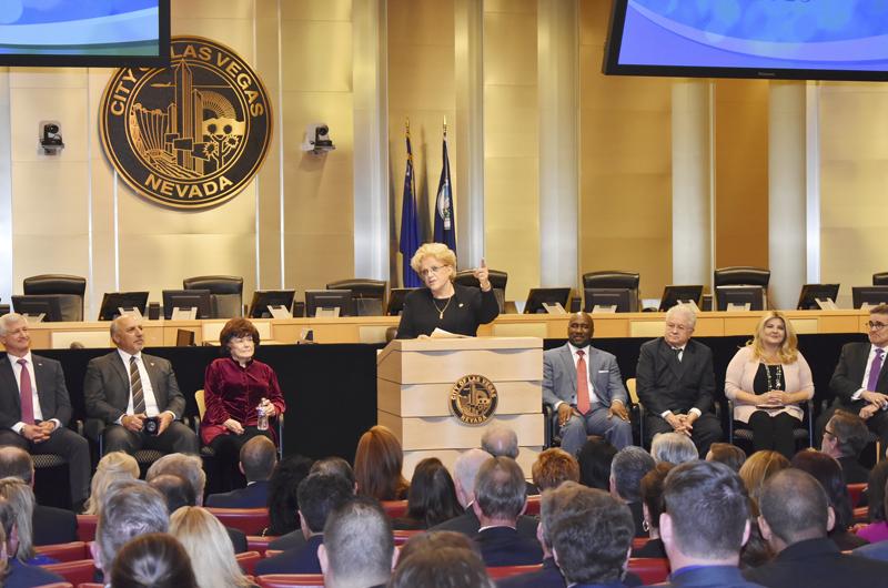 Alcaldesa Carolyn Goodman y el informe anual: Podemos ver el futuro con optimismo