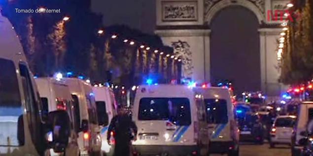 Estado Islámico se atribuye atentado en París que dejo un muerto y tres heridos