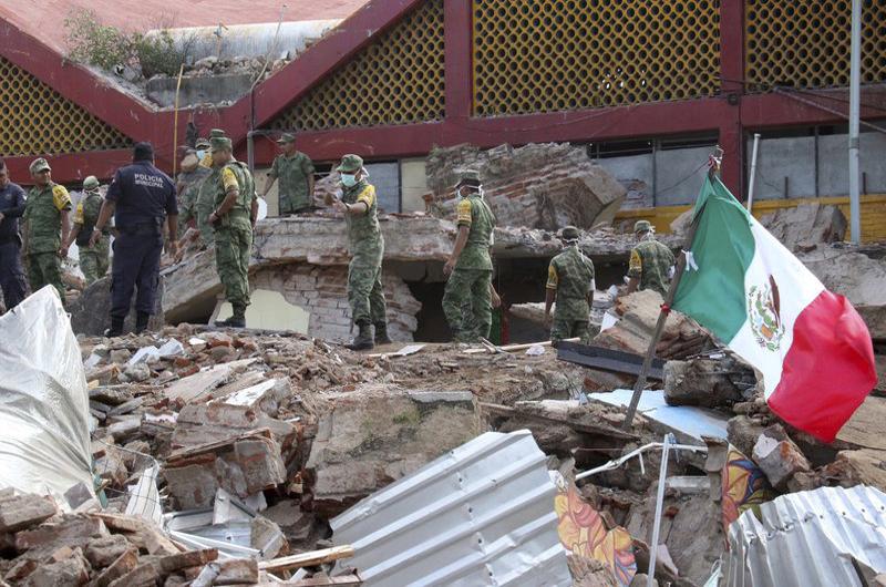 Terremoto de 8.1 sacude a México y deja al menos 32 muertos