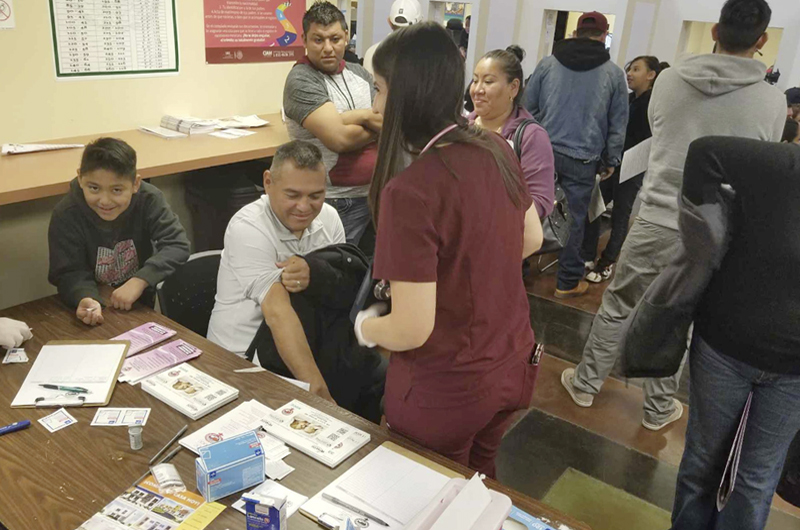 Masivo respaldo a la Ventanilla de Salud, asistieron a más de 100 personas
