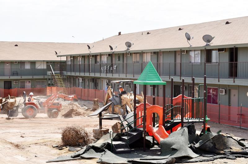 Se acondiciona villa: Propiciará mejores condiciones de vida a veteranos