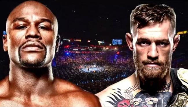 Boxeadores Mayweather y McGregor inician gira de prensa con advertencias mutuas