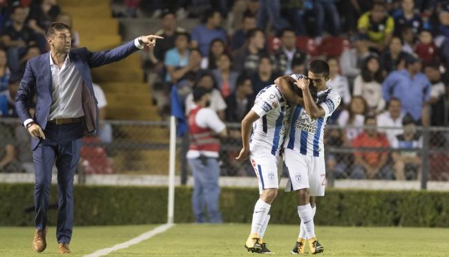 Pachuca saca la victoria de último minuto en su visita a Querétaro en Copa MX