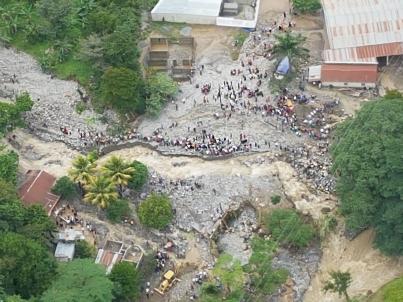 Sube a 23 número de víctimas por lluvias en Guatemala