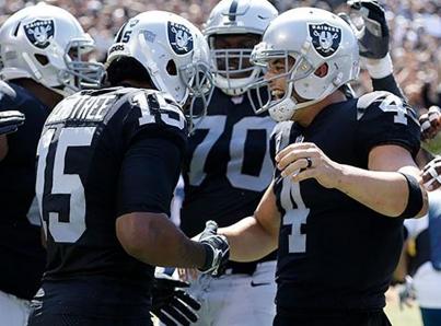 Raiders vencen 31-30 a Jefes en inicio de semana 7 de la NFL