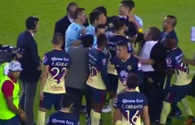 León remonta de último minuto al América 2-1 en buen juego de futbol