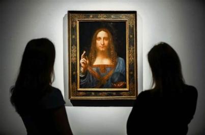 Un Da Vinci rompe récord con 450 mdd en subasta